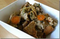 Vegan crockpot stuffing