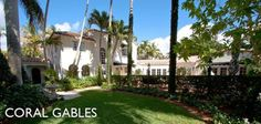 Featured Community! Coral Gables stands out as a rare pearl in South Florida: a cohesive community built on a grand scale that blends color, detail, and Mediterranean Revival architectural style in a unique way. #CoralGables #RealEstate