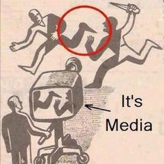 Don't always believe everything you see in the media..