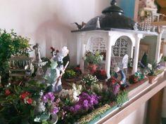 Gazebo con giardino