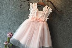 """""""The Zoe"""" Flower Girl Dress"""