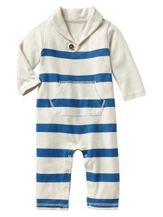 Gap | Striped shawl one-piece