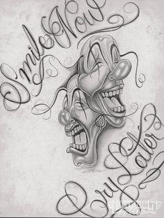 Chicano Tattoos Lettering, Chicano Tattoos Sleeve, Chicano Drawings, Graffiti Tattoo, Tattoo Lettering Fonts, Dark Art Drawings, Body Art Tattoos, Beautiful Drawings, Tattoo Design Drawings