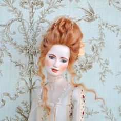 Art bjd porcelain doll Maria