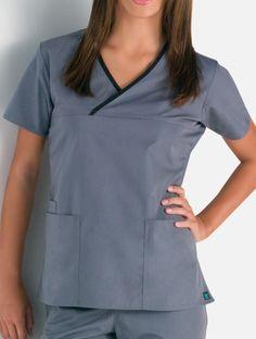 66d41f7e951 Maevn Fit Y-Neck Mock Wrap - Maevn - Brands - Metro Uniforms - Nursing  Uniforms, Wink Scrubs,.