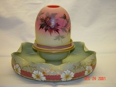 Antique Tapestry Fairy Lamp
