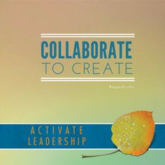Connect to expand.  Effective collaboration requires high engagement and trust.  #aspentruths