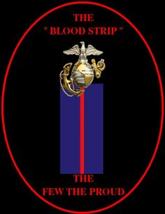 The blood strip - found on dress uniforms of NCOs and officers