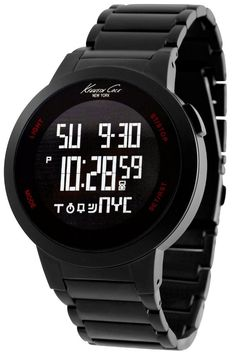 Kenneth Cole New York Digital Touch Screen Watch