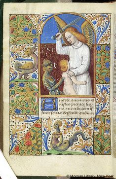 Book of Hours, MS M.348 fol. 252v - Images from Medieval and Renaissance Manuscripts - The Morgan Library & Museum