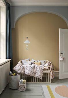 Une chambre de bébé douillette