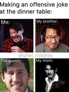 Read owo 8 from the story Jack And Mark memes by shawnthevampirehuman (Shawn The Vampire) with 6 reads. Really Funny Memes, Stupid Funny Memes, Funny Relatable Memes, Haha Funny, Funny Posts, Funny Quotes, Hilarious, Pewdiepie, Jacksepticeye Memes