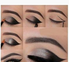 Premium eye look pictorial #eyemakeup #tutorial #howto - bellashoot.com