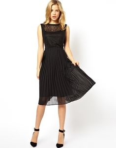 Image 1 of Ted Baker Skater Dress with Capped Sleeves | My Style ...