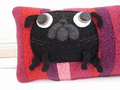 Pug pillow. OMG. I need this.  I really do.