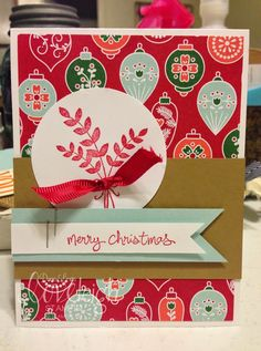 Loveleigh Stampin' For All Things Christmas Card