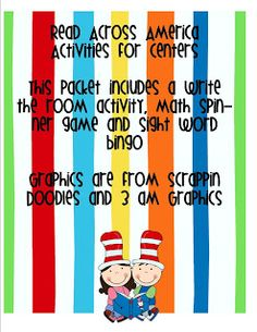 Kerri and her Krazy Kindergarten: This post has some fun ideas for a Dr Suess themed week. School Holidays, School Fun, School Days, School Stuff, First Grade Classroom, Classroom Themes, Classroom Activities, Dr Seuss Week, Dr Suess