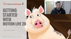 Cartoon Animator 4 Facial Mocap Tutorial - Getting Started with Motion LIVE Live Tv Show, Face Profile, Motion Capture, Level Up, Get Started, Facial, Animation, 2d, Cartoon