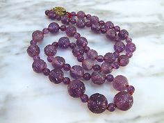 VERY-LARGE-ANTIQUE-CHINESE-CARVED-AMETHYST-COURT-NECKLACE-FILIGREE-SILVER-CLASP