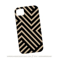 iPhone 4 or 5 case  Abstract Stripes by shopampersand on Etsy, $39.00