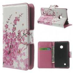 Lumia 530 vaaleanpunaiset kukat puhelinlompakko Telephone, Phones, Phone Cases, Wallet, Phone, Handmade Purses, Purses, Diy Wallet, Purse