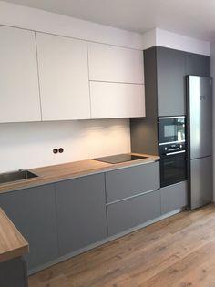 Open Plan Kitchen Living Room, Kitchen Dinning Room, Kitchen Room Design, Kitchen Cabinet Design, Modern Kitchen Design, Kitchen Layout, Home Decor Kitchen, Interior Design Kitchen, Home Kitchens