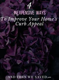 Are you getting ready to list your home for sale, or just looking to spruce up the outside of your home? Here are the most cost-effective things one And Then We Saved reader did to improve his home's curb appeal.