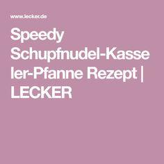Speedy Schupfnudel-Kasseler-Pfanne Rezept | LECKER