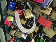 Locks of love, Cologne.    2011