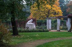 Ostdeutscher Rosengarten, Forst Lausitz, Löwenbrunnen