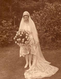 The bride - 1920s