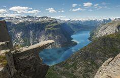Le Troltunga, Norway