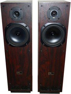 My 2nd pair of Hi-Fi Speakers TDL RTL2