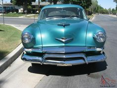 1953 Kaiser Deluxe Four Door Sedan, California Car - Great Driver...NO RESERVE!! that windshield is shaped like a heart!!