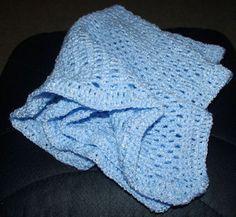 Preemie Baby Afghan Free Crochet Pattern