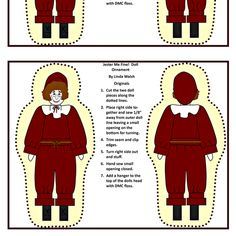 Jester Me Fine Colonial Boy Cut and Sew Doll fabric by lworiginals on Spoonflower - custom fabric by Linda Walsh