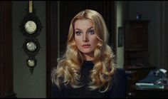 Barbara Bouchet is Gretta Franklin in the Italian thriller Amuck Barbara Bouchet, 70s Hair, Daphne Blake, Grunge Hair, Classic Beauty, Hollywood Glamour, Hairstyles With Bangs, Vintage Beauty, Makeup Inspiration