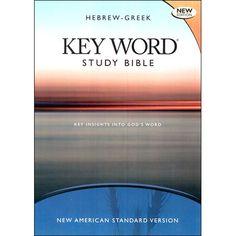 Hebrew-Greek Key Word Study Bible-NASB. Dr. Zodhiates greatest contribution to #Bible students everywhere is the Hebrew-Greek Key Word Study Bible, which takes the reader to the source of the Hebrew and Greek words and Greek grammar. In addition, there are extensive exegetical footnotes explaining the most difficult passages of the Old and New Testaments.