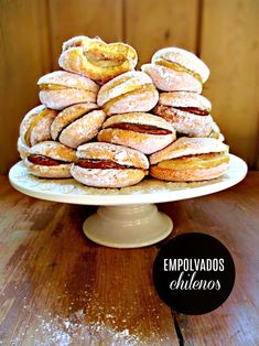 Chilean Recipes, Food And Drink, Bread, Cookies, Chocolate, Breakfast, Sweet, Desserts, Gourmet
