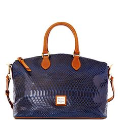 Embossed (real) Snakeskin Satchel //  Dooney & Bourke