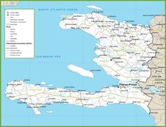 36 best Haiti Maps images on Pinterest | Blue prints, Cards and ...