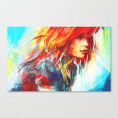 Airplanes Canvas Print by Alice X. Zhang - $85.00