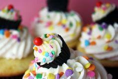 Cupcake on a cupcake