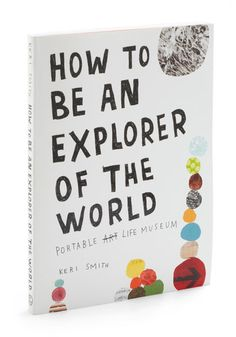 How to Be an Explorer of the World Book by Penguin Books - Multi, Dorm Decor, Travel, Graduation, Top Rated