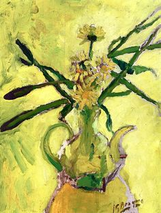 bofransson:  Daisies in a Carafe Georges Braque