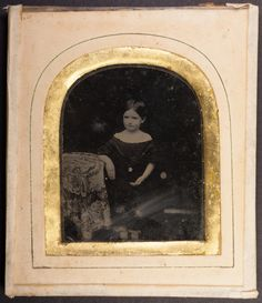 Lovely framed 1/6th plate ambrotype of a small girl possibly Cornish - This 1/6th plate ambrotype in continental frame came to me with the frame in a rather rough state seemingly having had several 'repairs' done over the years. dismantling it and cleaning it up was easy but the fun part was soaking off the additional dark paper backing which revealed a studio stamp and the print on a piece of paper that had been used reversed in the original framing. See comments below for details.