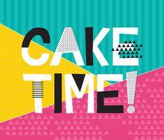 print & pattern: design studio - a fresh bunch Art And Illustration, Illustrations, Birthday Images, Birthday Quotes, Birthday Cards, 15 Birthday, Typography Letters, Typography Design, Birthday Typography