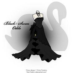 Black Swan: Odile by Neko-Vi.deviantart.com on @DeviantArt