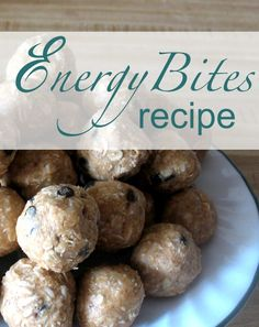 Looking for a yummy but nourishing snack? Keep your fridge stocked with these delicious energy bites!