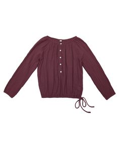 Shirt mum Naia red macaron